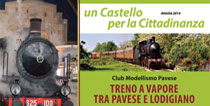 Il treno a vapore con gli Amici del Castello