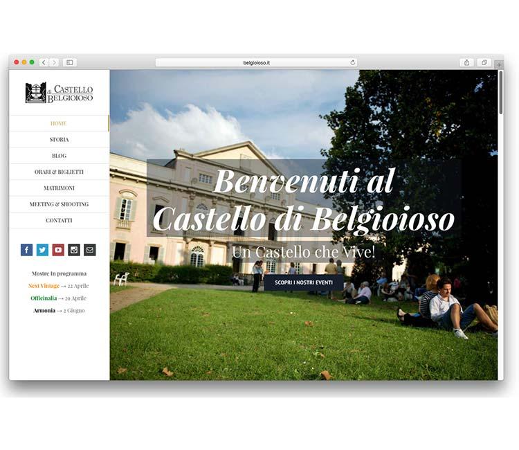 Nuovo sito internet belgioioso