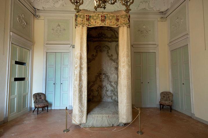 castello di belgioioso sala del baldacchino
