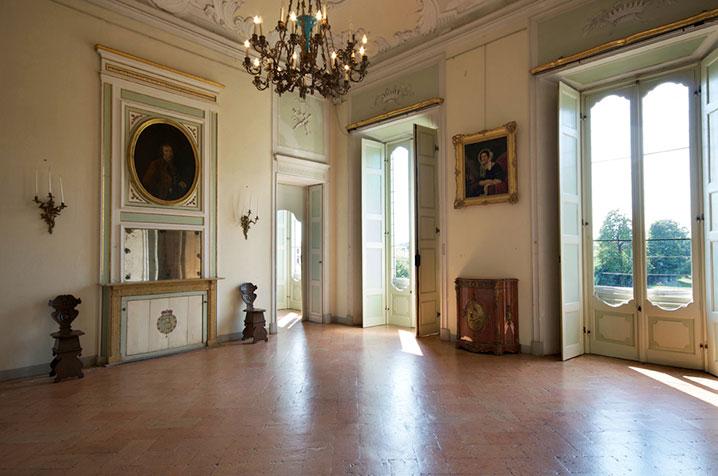castello di belgioioso sala della musica