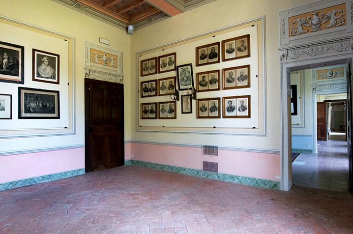 castello di belgioioso sala napoleonica