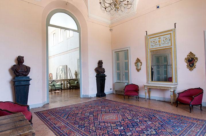 castello di belgioioso sala rosa