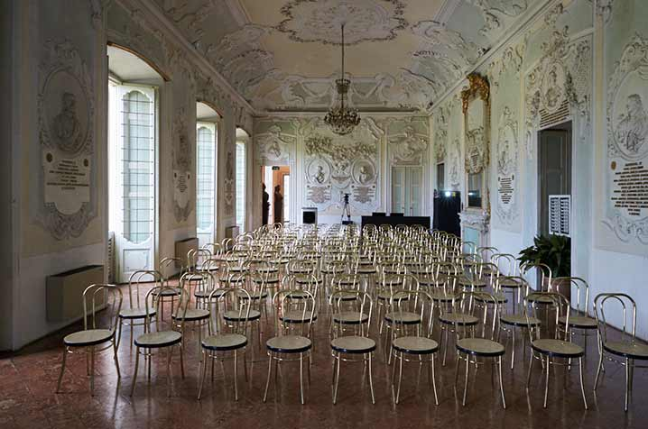 castello di belgioioso sala degli stucchi meeting